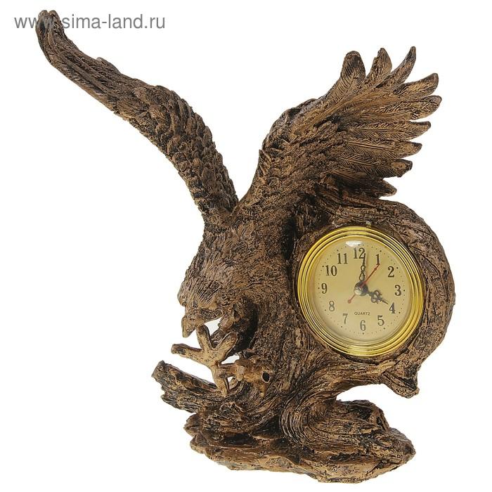 """Часы настольные """"Орел в полете"""""""