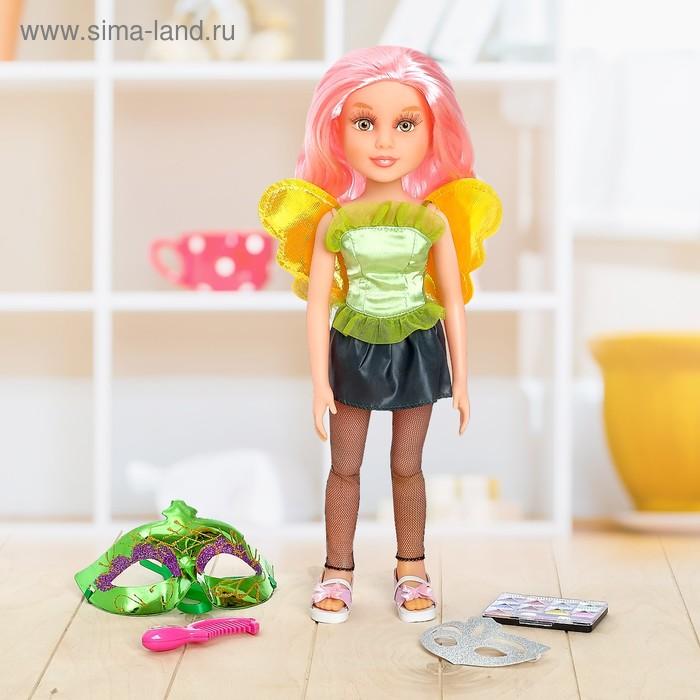 """Кукла шарнирная, """"Бал-маскарад Фея"""", с аксессуарами, высота 45 см"""