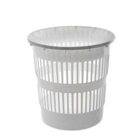 Корзина для мусора 11 л, цвет мраморный Ош