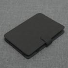 """Чехол-книжка для планшета, универсальный, 6"""", цвет чёрный"""