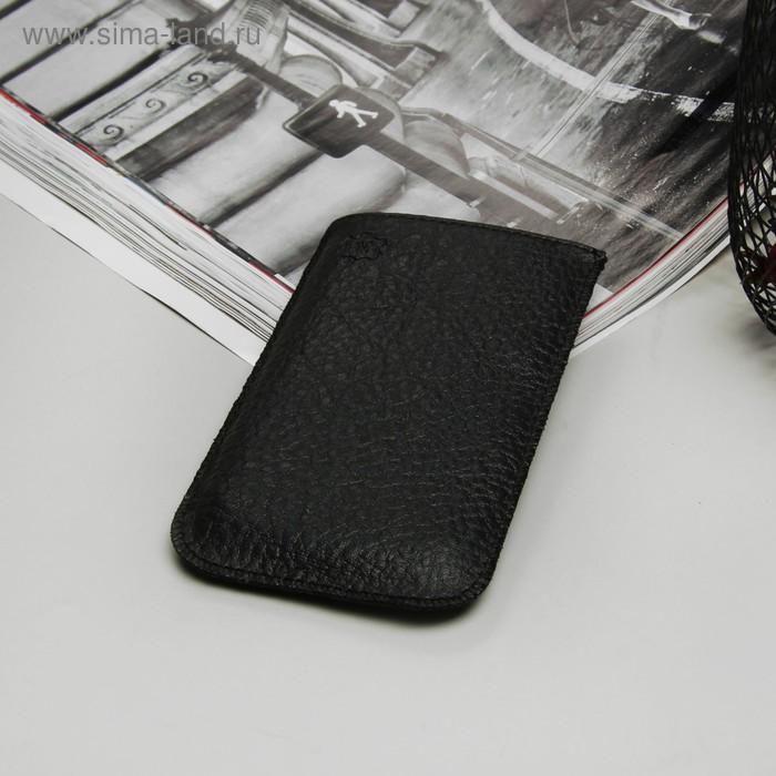 """Чехол с ремешком """"Norton"""" для телефона, размер W, цвет чёрный"""