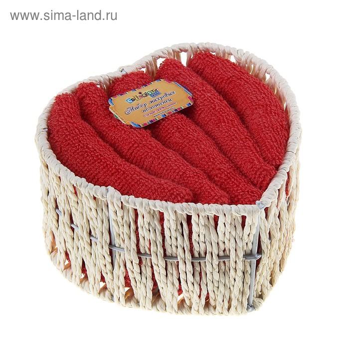 Набор полотенец Sweetheart 30*30 см - 5 шт
