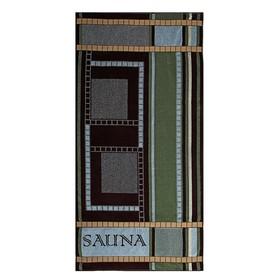 """Полотенце махровое Авангард """"Сауна"""", размер 70х140 см, 420 гр/м2"""