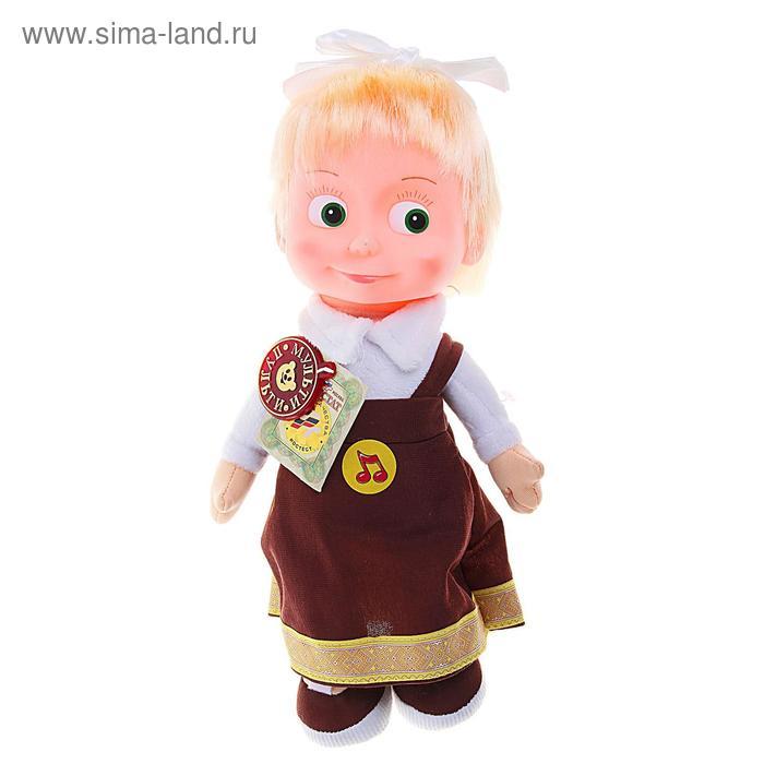 Мягкая музыкальная кукла «Маша»