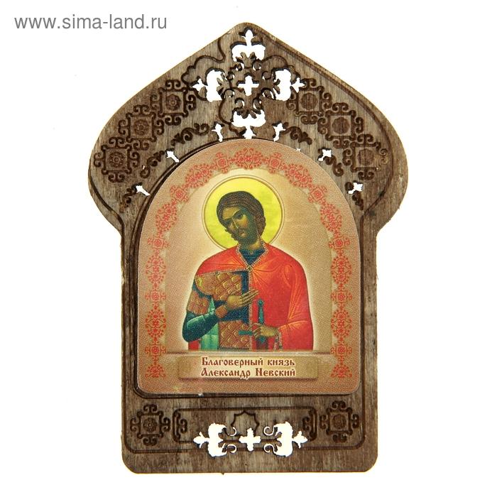"""Именная икона """"Благоверный князь Александр Невский"""", покровительствует Александрам"""