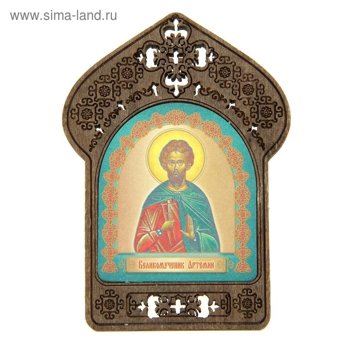 """Именная икона """"Великомученик Артемий"""", покровительствует Артемам"""