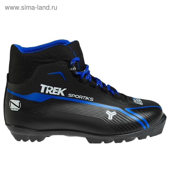 Ботинки лыжные TREK Sportiks NNN ИК, размер 42, цвет: черный