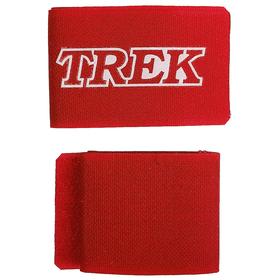 Зажим-липучка для лыж TREK, цвет красный Ош