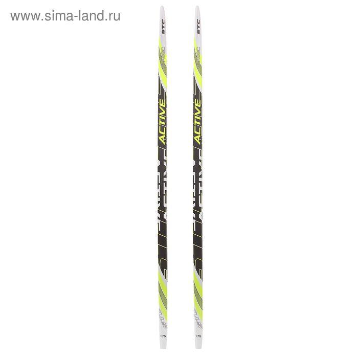 Лыжи пластиковые БРЕНД ЦСТ, Step, р. 175 см, цвета МИКС