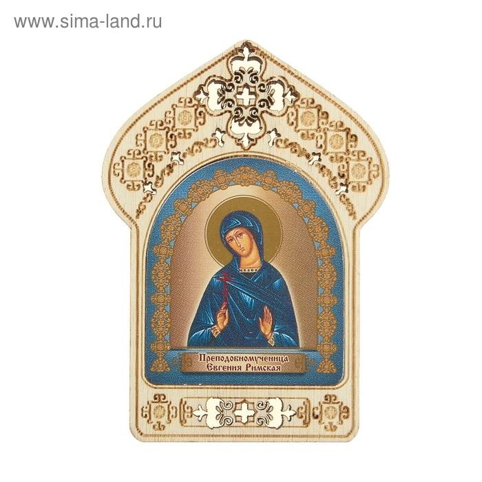"""Именная икона """"Преподобномученица Евгения Римская"""", покровительствует Евгениям"""