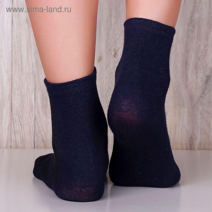"Носки женские ""Collorista basic"" КС003 т.синий, р.36-39, 85%хлопок, 10%па, 5%эластан"