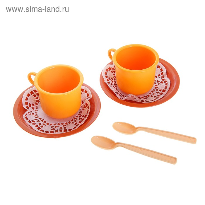 "Чайная пара ""Ириска"" 6 предметов"