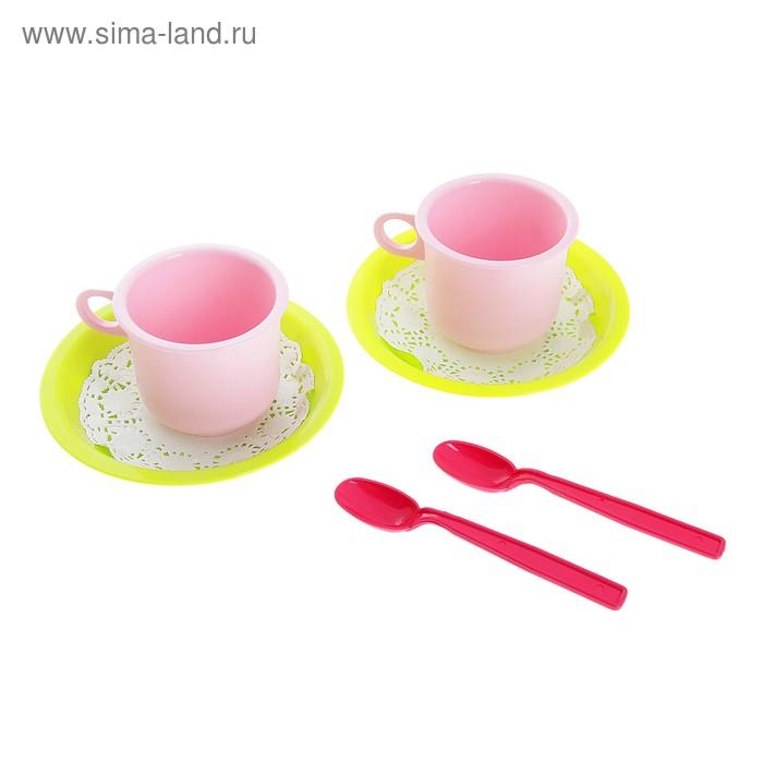 """Чайная пара """"Лайм"""" 6 предметов"""