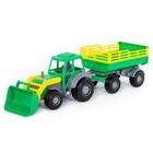 Трактор с прицепом №2 и ковшом