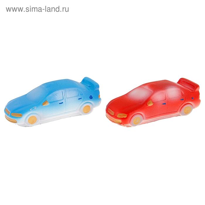 """Резиновая игрушка """"Гоночная машина"""", МИКС"""