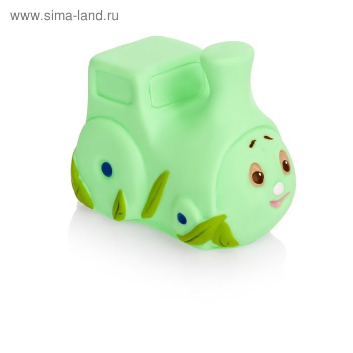 """Резиновая игрушка """"Паровозик большой"""""""