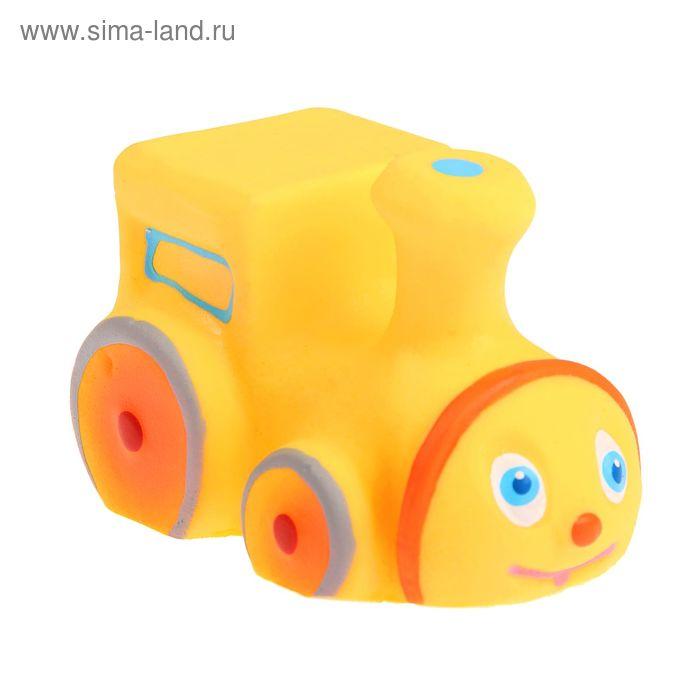 """Резиновая игрушка """"Маленький паровозик"""""""