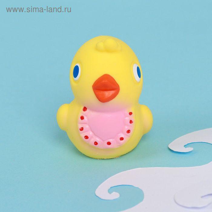 """Резиновая игрушка """"Цыпленок"""" МИКС"""