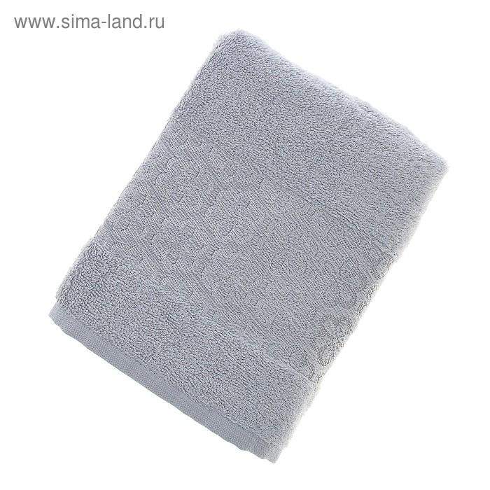 Полотенце махровое Fiesta Milano 50*90 см серый 500гр/м, бамбук