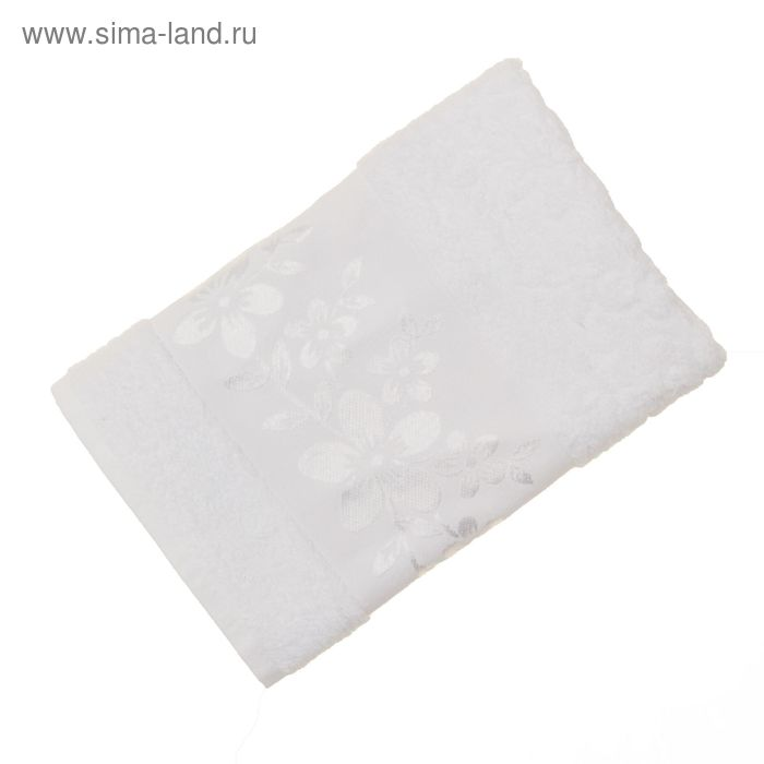 Полотенце махровое Fiesta Verona, размер 30х50см, 500гр/м2, цвет белый