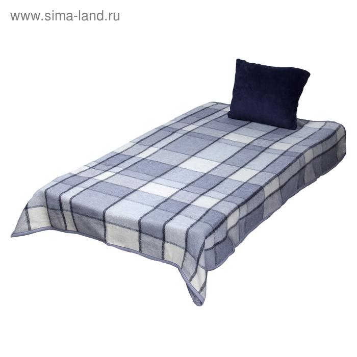 "Плед-подушка ""Спутник-Люкс"", размер 35х40см/100х140см, цвет 64 (микс)"