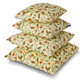 Подушка Мио-Текс Холфитекс 50*50 см,МИКС , силиконизированное волокно, микрофибра, 400 гр Ош
