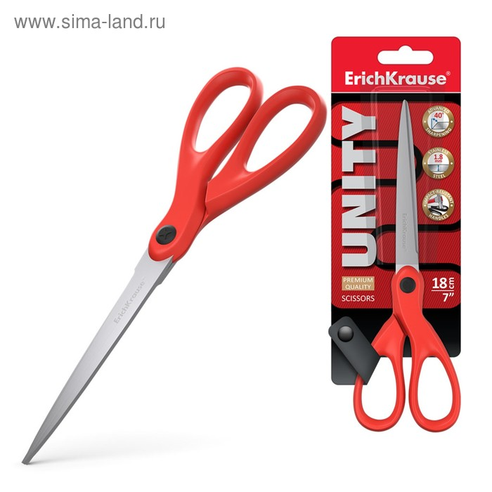 Ножницы Unity 18см, EK 50014