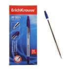 Ручка шариковая Erich Krause R-301 стержень синий, узел 1.0мм, EK 22029
