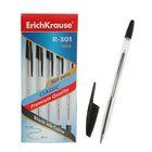 Ручка шариковая Erich Krause R-301 стержень черный, упаковка 50 штук,узел 1.0мм, EK 22030
