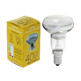 """Лампа накаливания """"Старт"""" R50, Е14, 40 Вт, 230 В"""
