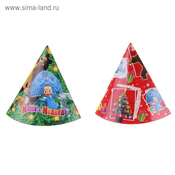 """Набор колпаков """"Новый год!"""", 6 штук, МИКС"""