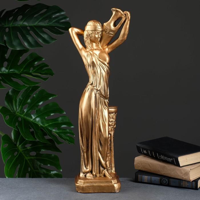 """Статуэтка """"Девушка с кувшином"""" бронза"""