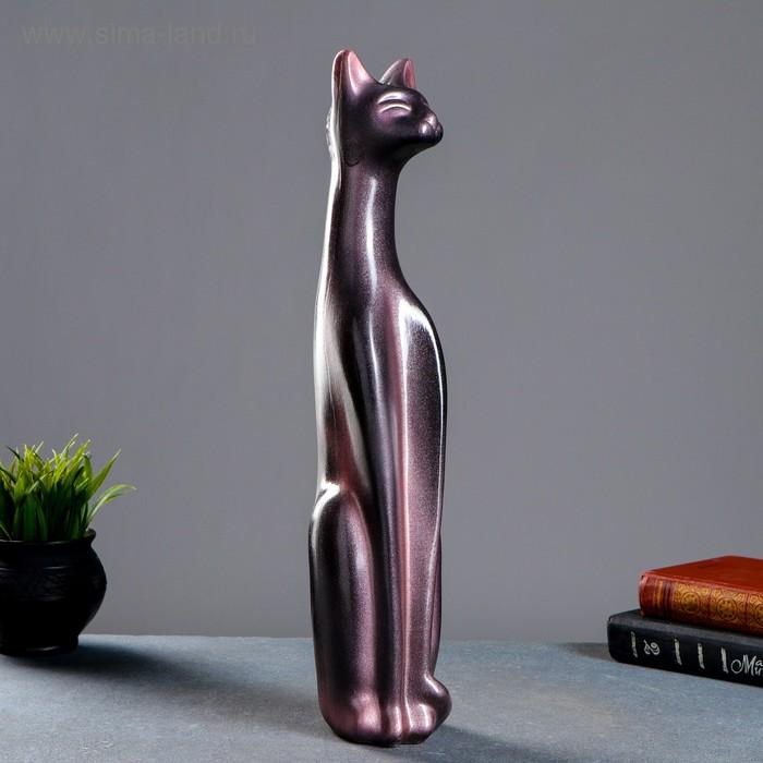 """Сувенир """"Кошка Египетская"""" черная, жемчуг"""