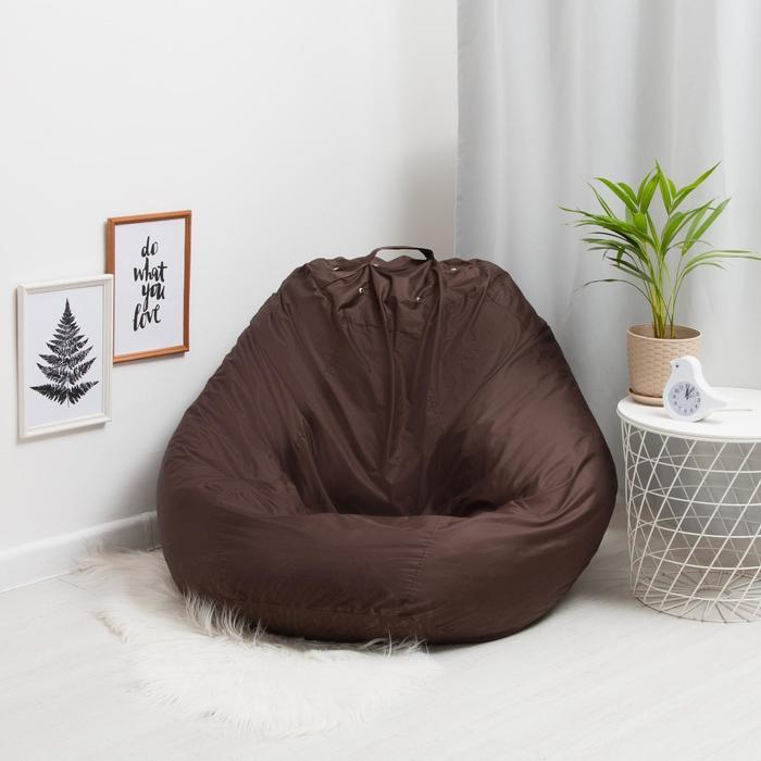 Кресло-мешок основное, d110, цвет фуксия