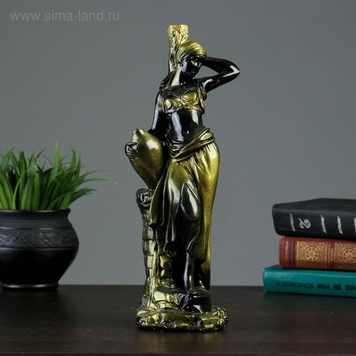 """Статуэтка """"Пленница"""" черный, золото"""