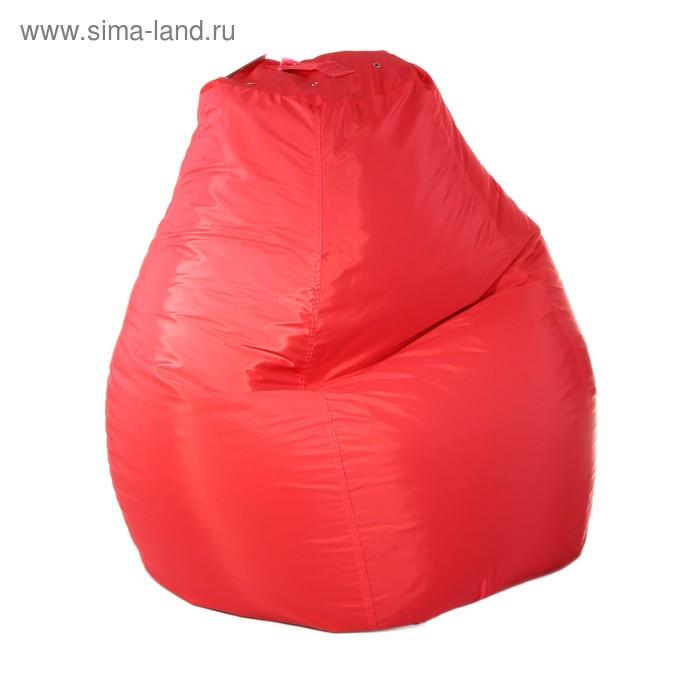 Кресло-мешок пятигранное, d82/h110, цвет коралл