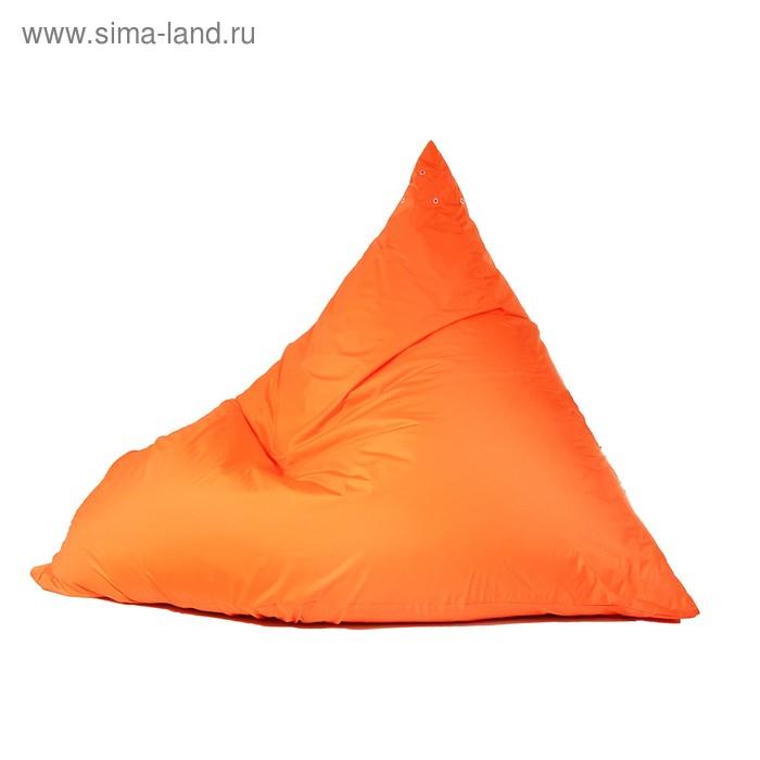 """Кресло-мешок """"Пирамида"""", L, 140/h100/w120, цвет оранжевый"""