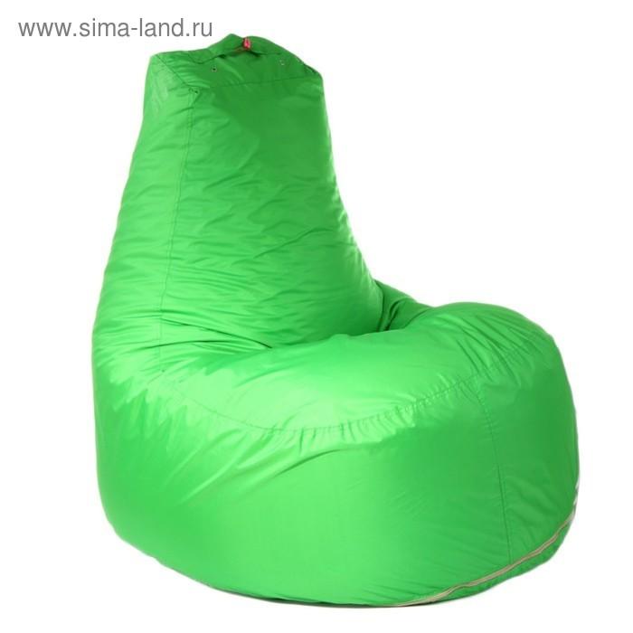 """Кресло-мешок """"Банан"""", d90/h100, цвет ярко-салатовый"""
