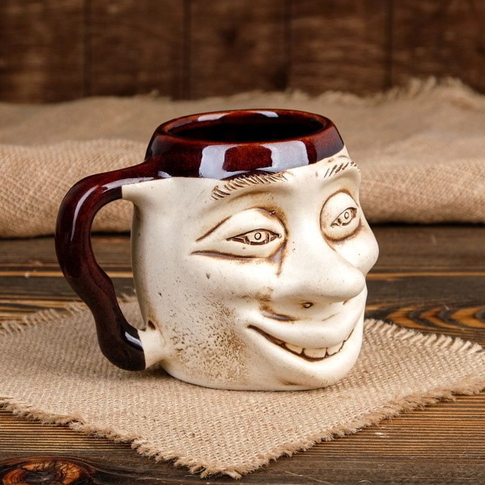 """Кружка для пива """"Рожа"""" 0,5 л"""