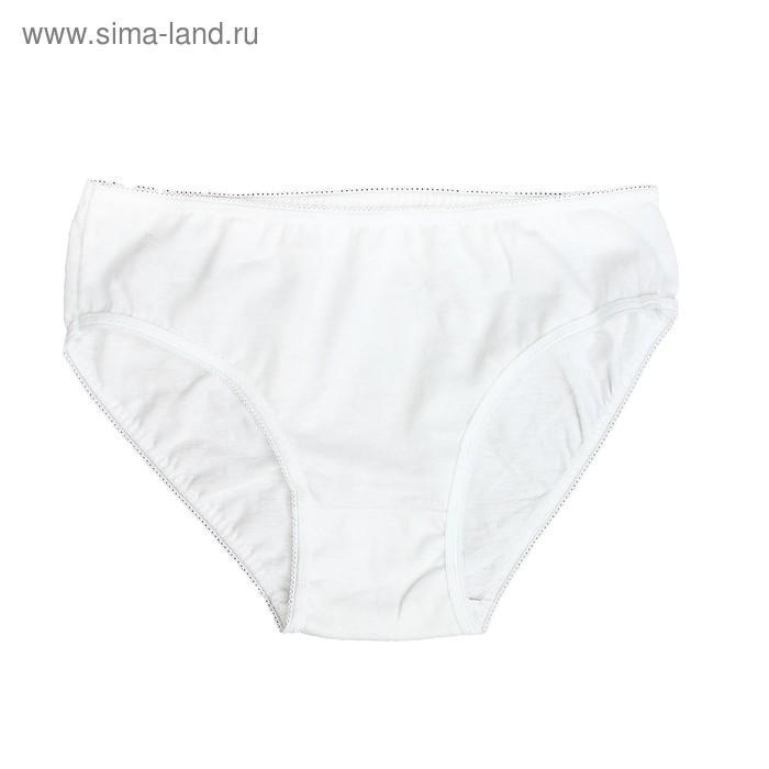 Трусы для девочки, рост 140см (38), цвет белый 7121