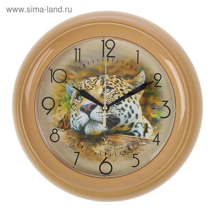 """Часы настенные круглые """"Тигр"""""""