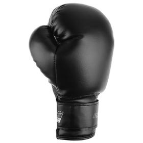 Перчатки боксерские СТАРТЕР, 10 унций, цвет черный