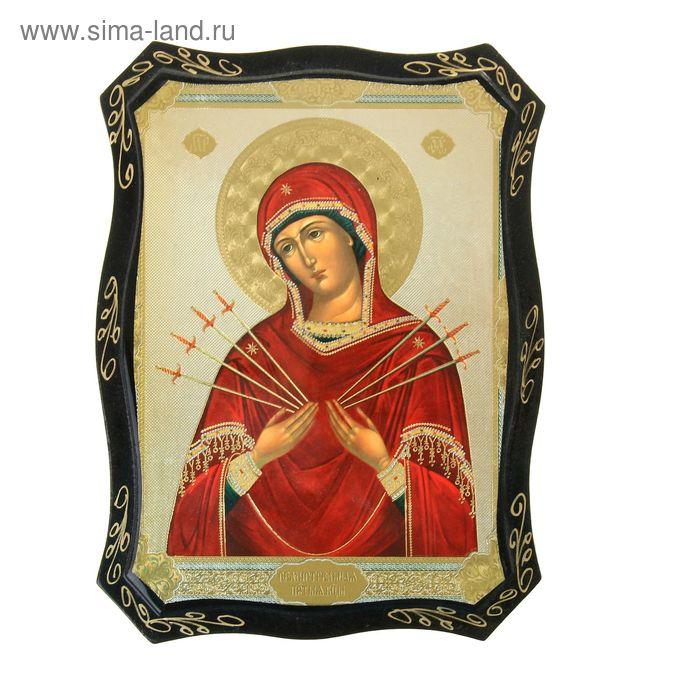 Панно лаковая миниатюра 16х22 см Религия микс