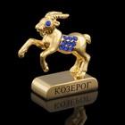 Сувенир знак зодиака «Козерог», 5х2х5 см, с кристаллами Сваровски