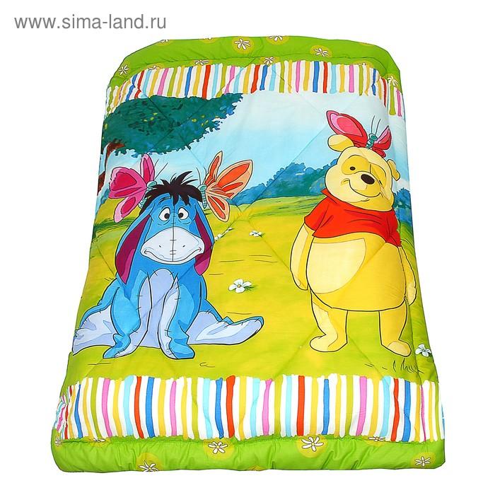 "Одеяло зимнее Disney ""Винни Пух и Ослик"" 1,5 сп., размер 140х205 ± 5 см, 300 гр/м2"