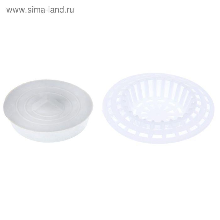 Набор для раковины: фильтр (d = 7 см), пробка (d = 6 см)