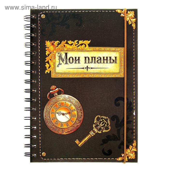 """Ежедневник """"Мои планы"""" 96 листов"""