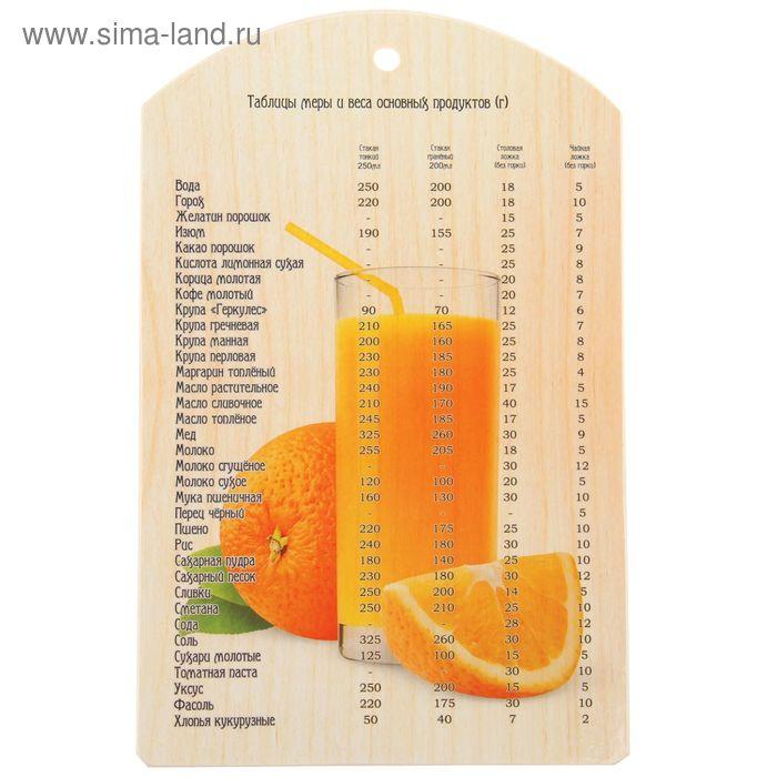"""Доска разделочная 18,5x29,5 см """"Апельсин"""""""
