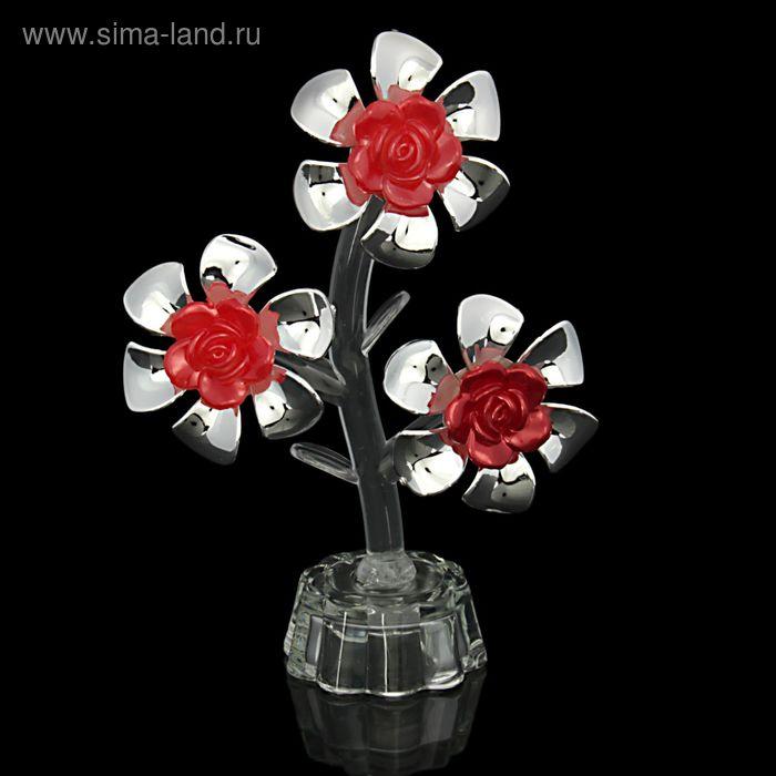 """Сувенир """"Три цветка"""", МИКС"""