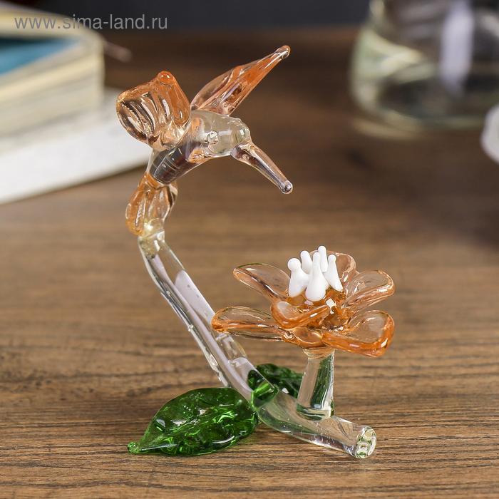 """Сувенир """"Птица у цветка"""", МИКС"""